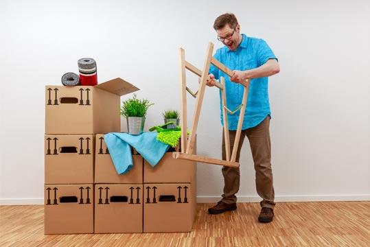 Aide et nettoyage pour déménagement